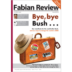 Fabian Review Winter 07 Cover