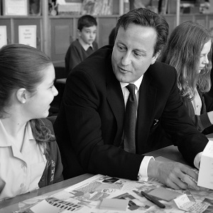 PM visits  Upton Heath School