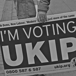 UKIP Campaigners on the eve of the Eastleigh by-elections 2013