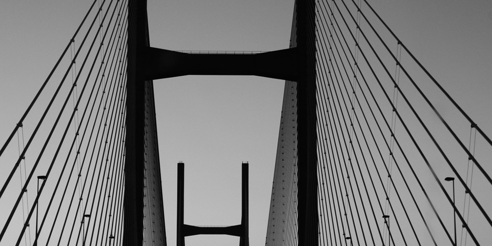 Severn bridge image