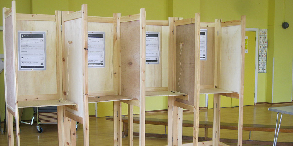 polling booth